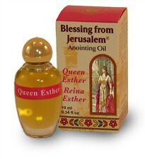 Queen Esther Blessing from Jerusalem Anointing oil made in Holy Land 10ml Israel