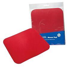 LogiLink Mousepad Mauspad für Optisch Kugel Laser Mouse Maus Pad - Rot ID0128