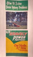 Gravely 1955 L Walk-behind Lawn Garden Tractor Color Sales Advertising Manual