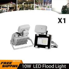 1X 10W LED PIR Motion Sensor Flood Light Cool White Outdoor Security Spot Lamp