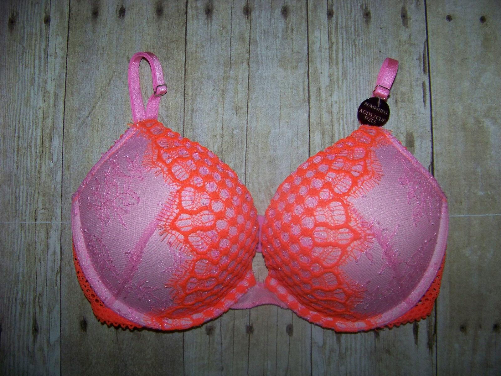 7a01bb25ef477 Victoria s Secret Bombshell Plunge Bra NWT 32D