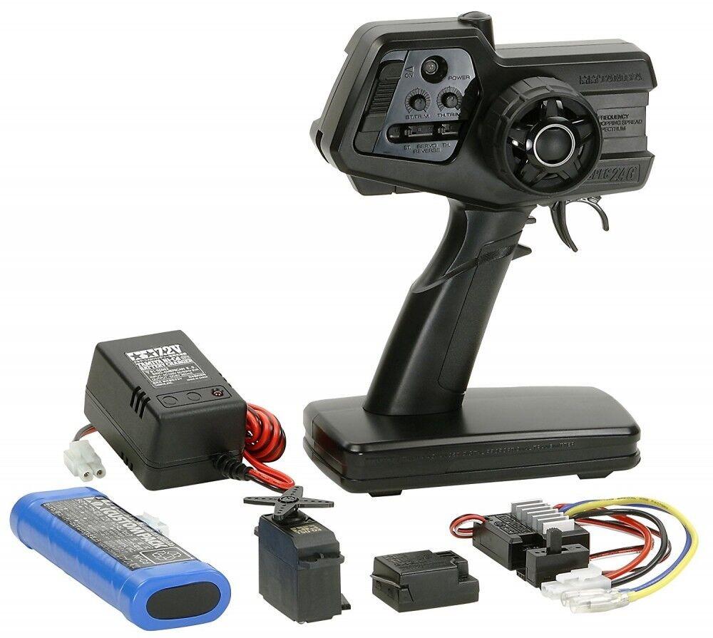 Sistema de control de radio TAMIYA serie No.53 FineSpec 2.4G conjunto de unidad de control de radio eléctrica 45053