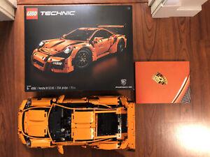 Lego Technic Porsche 911 GT3 RS 42056 *USED* [Assembled] *Includes original box*