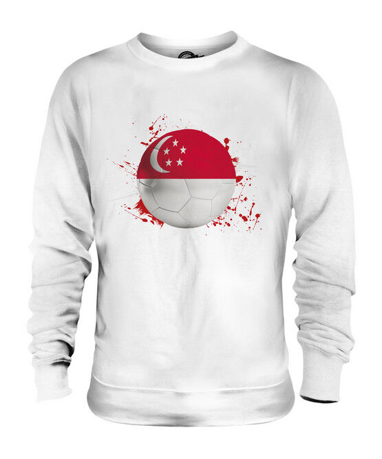 SINGAPORE FOOTBALL UNISEX SWEATER  TOP GIFT WORLD CUP SPORT
