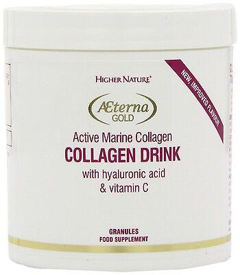 Higher Nature Æterna Gold Collagen Drink 80g Granules