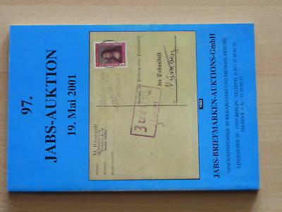 Auktionskatalog, 97. Auktion, Mai 2001, Jabs