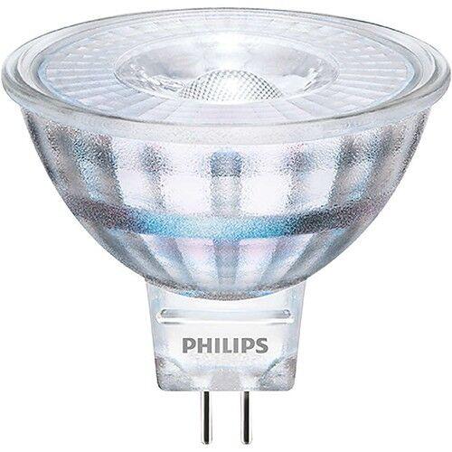 Philips LED Classique Spot MR16 GU5.3 3W=20W Blanc Chaud Wie Halogène 20W 36°