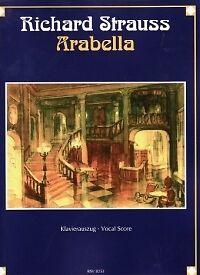 Amical Strauss R Arabella Allemand Vocal Score-afficher Le Titre D'origine