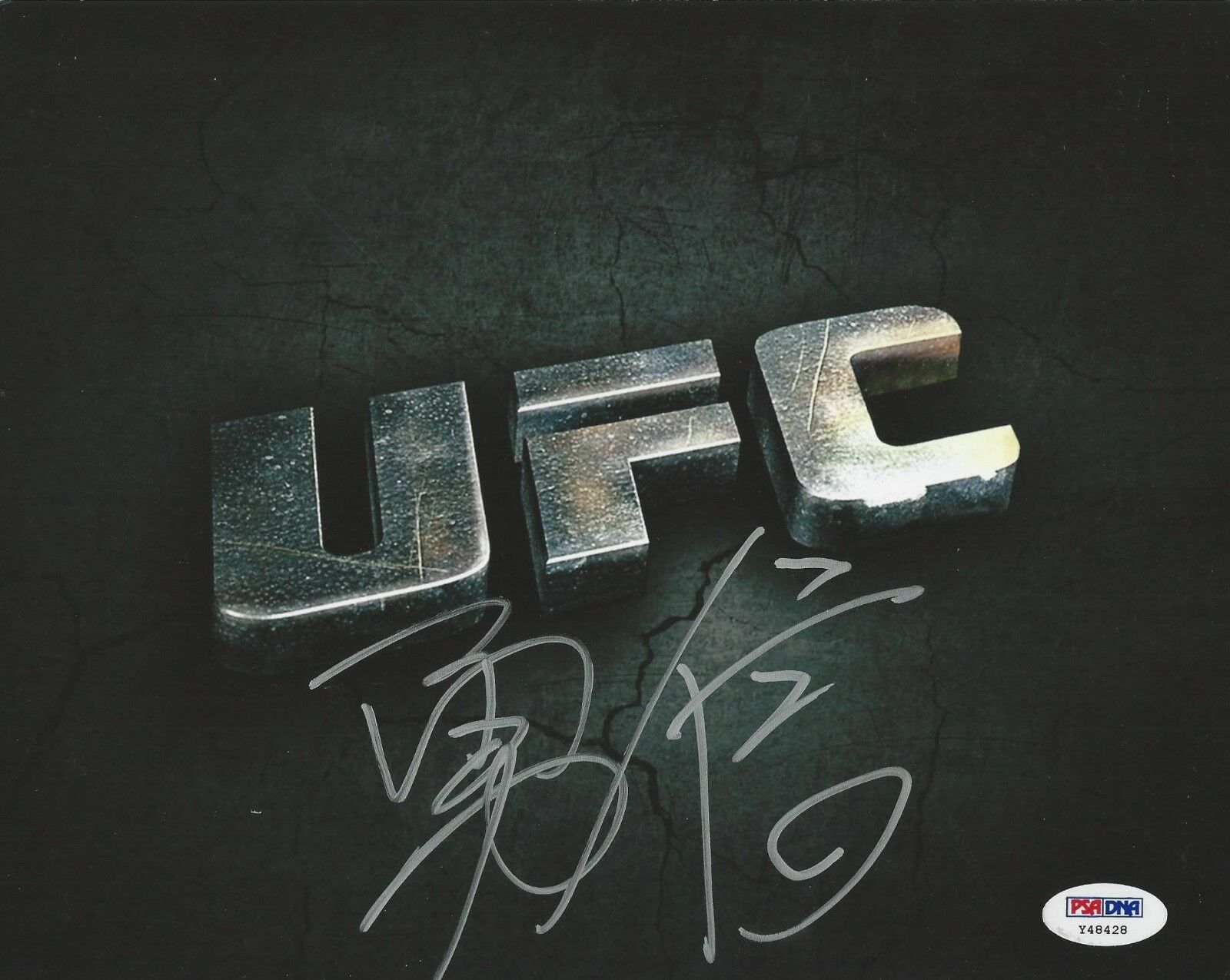 Yushin Okami UFC Fighter signed 8x10 photo PSA/DNA # Y48428