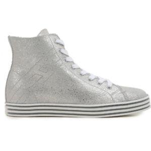 HOGAN-REBEL-shoes-WOMEN-shoes-Damenshuhe-SNEAKERS-100-AUTHENTIC-talco