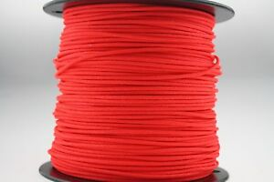 3' BCY Neon Red D Loop Material Bow String Bowstring Archery