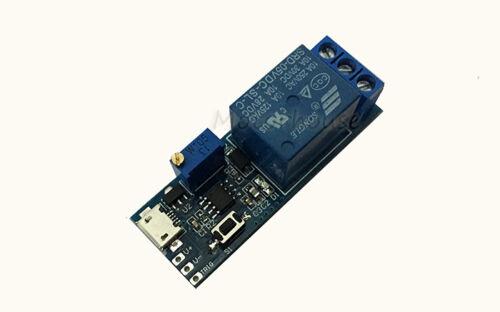 Adjustable Trigger Delay Time Switch DC 5v 12v 24v Timer Board Relay Module Car