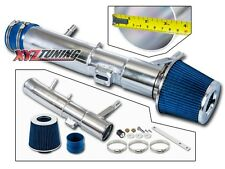 """3.5"""" BLUE Cold Air Intake Kit + Filter For 11-14 Ford Mustang 3.7L V6"""