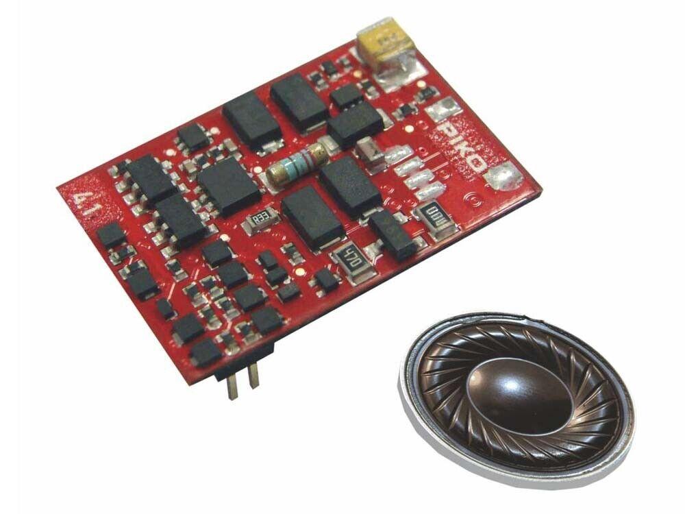PIKO 56431 DECODER SMART 4.1 plux22 Sound con altoparlante per d.145