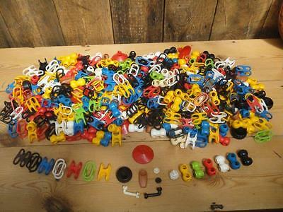 Matchbox Linkits Robo Racer Space System Parts Job Lot Over 500 Pieces 1980s
