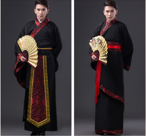 43f38927e Chinese Ancient Costume Men's Han Clothing Emperor Prince Show ...