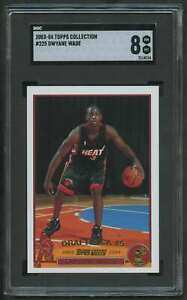 2003-TOPPS-COLLECTION-GOLD-ROOKIE-DWYANE-WADE-RC-SGC-8