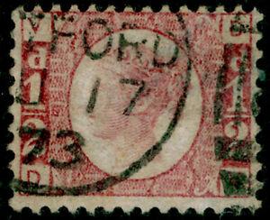 SG48-d-rose-red-PLATE-5-FINE-USED-CDS-Cat-25-DV