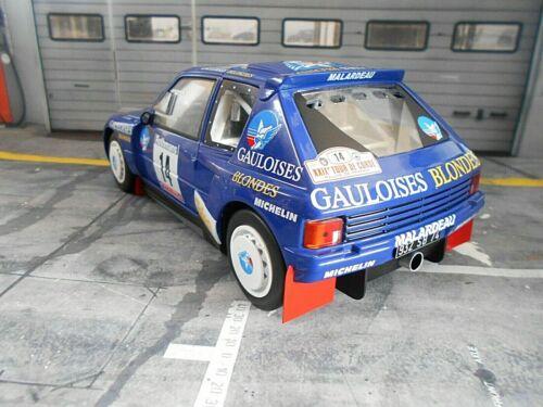 Peugeot 205 t16 rally talla B Tour de Corse 1985 #14 Darniche gauloises Ixo 1:18