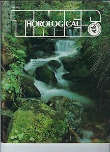 MF-087 - Horological Times Magazine July 1977, Escapement Checking, Advanced Hor