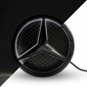 Black Car Led Emblem Grille Logo Light For Mercedes Benz E CLA ML C 2012-2018