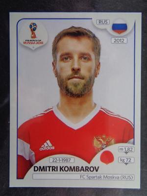 Panini WM 2018 World Cup Russia Dmitri Kombarov Russland Sticker 40