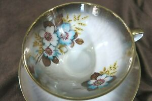 Bareuther-Waldsadden-China-Tea-Cup-and-Saucer-Made-In-Bavaria-Unique-Beautiful
