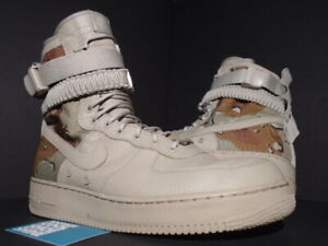 Details about 2017 NIKE SPECIAL FIELD SF AIR FORCE 1 AF1 DESERT CAMO CHINO BROWN 864024 202 13