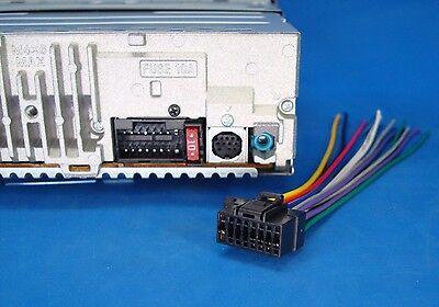 Sony Wire Harness CDX-GT270MP CDX-GT570UP MEX-BT3100P CDX-GT470UM