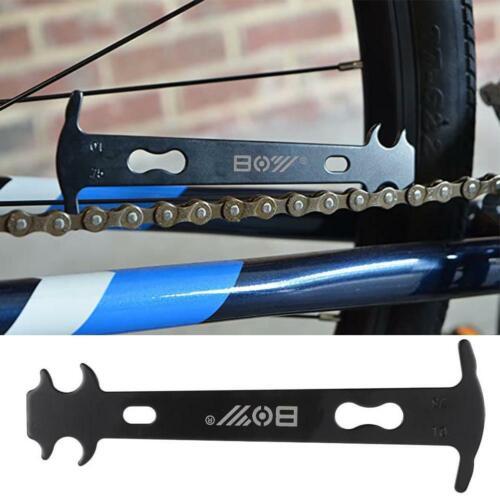 Mountain bike Portable Chain Wear Indicator Gauge Checker Bike Repair Supply