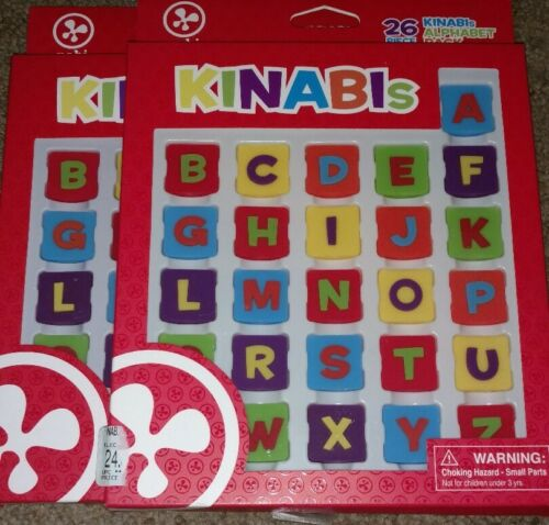 Nabi Fuhu Kinabi/'s 26x2 Letter Full Alphabet Tile Pack 2 sets! New