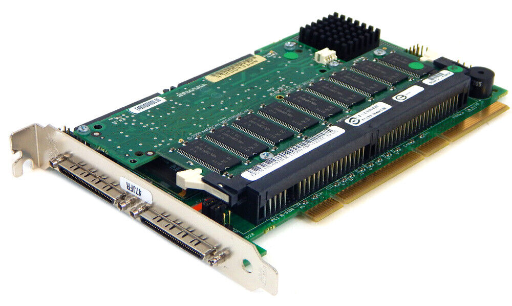 Dell Perc3 493 Doble Canal U160 Raid Mando 47JFR Con Battery-Memory Montaje