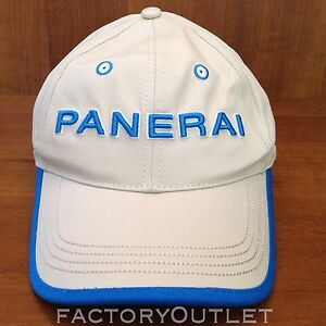 Image is loading Panerai-CAP-HAT-Beige-And-Blue-2019 95e386942970