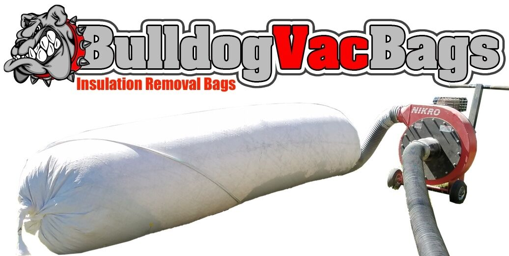 $10.00//bag 20-Meyer 4/'x6/' insulation removal bags now 25/% stronger