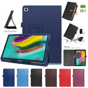 Custodia-pelle-Per-Galaxy-Tab-S5e-T720-T725-Magnetico-Stand-Libro-Smart-Cover
