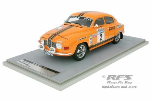 Saab 96 V4  Stig Blomqvist  Lombard RAC Rallye 1974  1:18 Tecnomodel TM1880A NEU