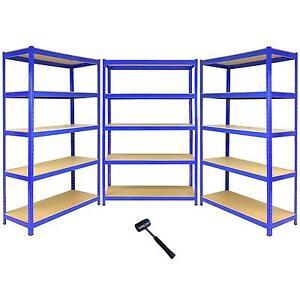 3 estantes bay garaje estanter as caseta invernadero - Estanterias para garaje ...