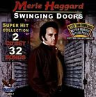 Swinging Doors: Hits Collection by Merle Haggard (CD, May-2012, 2 Discs, Gusto Records)