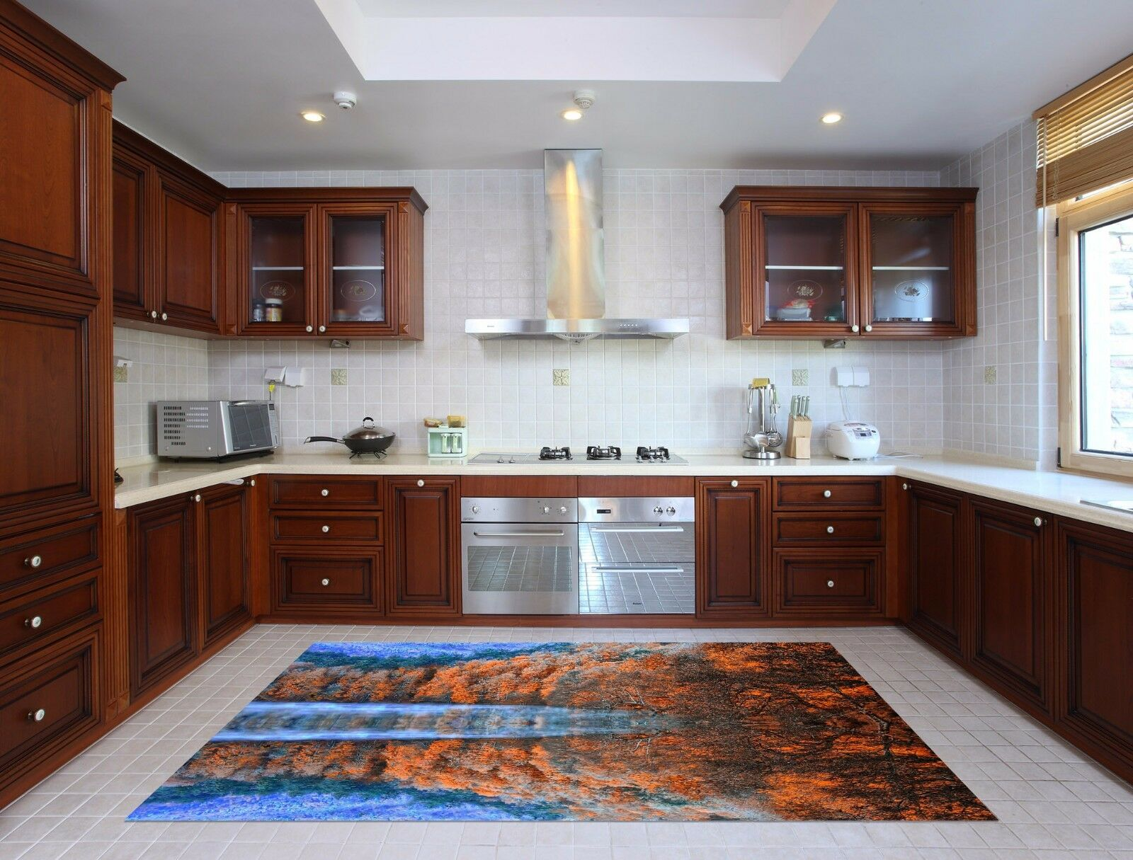 3D Woods Lakes 827 Kitchen Mat Floor Murals Wall Print Wall AJ WALLPAPER AU Kyra