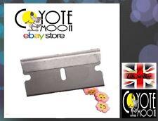3x Single Edge Razor Window / Scraper Blades Oven/Hob Cleaner,Gasket,Bodyshop uk