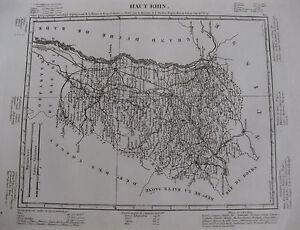 1835-Carte-Atlas-Geographique-France-Haut-Rhin-Alsace
