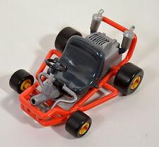 "1999 Mario Kart 64 Toy Biz 4.75"" Action Figure Go Cart Super Mario Brothers"