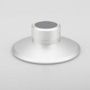 NEU-Silber-Record-Weight-Clamp-LP-Vinyl-Plattenspieler-Metall-Disc-Stabilisator