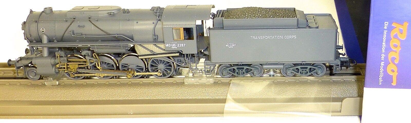 SNCF 140-V (S160U) Locomotora de Vapor Epiii Roco 72162 H0 1:87 Nuevo Emb. Orig.