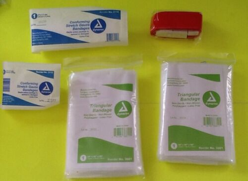 Dixie First Aid Kit EMT Médical Sac Prepper D/'URGENCE MEDIC Fully stocked