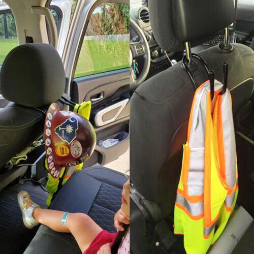 Details about  /2x Car Seat Headrest Mount Gun Rifle Archery Bow Rack Racks Hanger Hangers Hooks