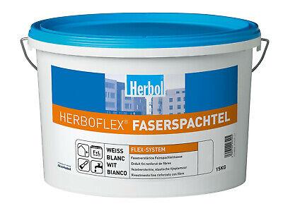 Weiß Fabriken Und Minen Zielstrebig Herbol Herboflex Faserspachtel 3 Kg
