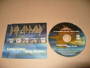 Def-Leppard-Long-Long-Way-To-Go-cd-Single-Promo-2002-Ex-Condition-Rare