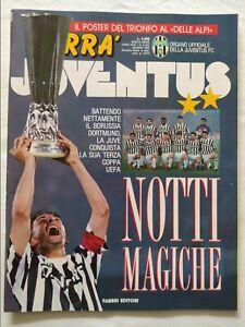 HURRA-039-JUVENTUS-N-6-GIUGNO-1993-MAXI-POSTER-VITTORIA-COPPA-UEFA-ROBERTO-BAGGIO