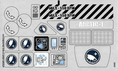 STICKER SHEET Arctic Base Camp Arctic City LEGO 60036